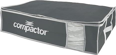 COMPACTOR Caja de Almacenaje Al Vacío, Talla L, 145 l, Gris/Blanco