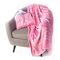 BlankieGram Healing Thoughts Blanket The Ultimate Healing Gift (Pink)