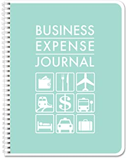 BookFactory Business Expense Journal Ledger Book LogBook 110 Pages 85 X 11