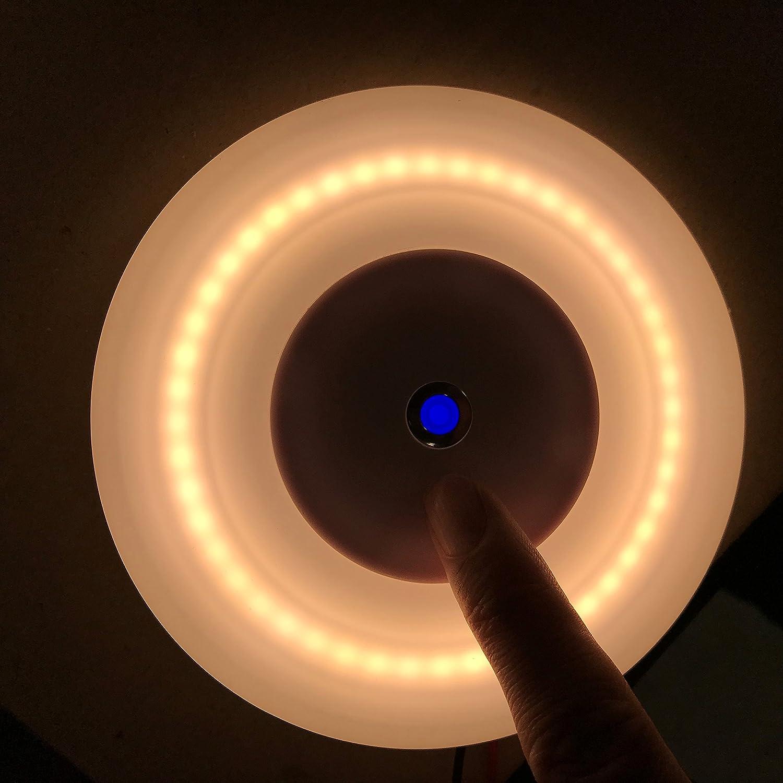 LIGHTEU 12V 5W Super leicht Aufbau LED deckenleuchte mit Schalter ...