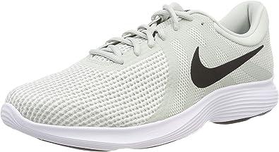 Nike Revolution 4, Zapatillas de Running para Hombre, Plateado ...