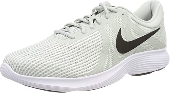 Nike Revolution 4, Zapatillas de Running para Hombre, Plateado (Light Silver/Black-Sail-White 019), 40 EU: Amazon.es: Zapatos y complementos