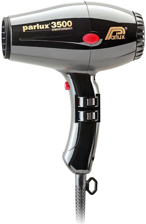 Parlux 3500 Supercompact - Secador de pelo profesional, color negro