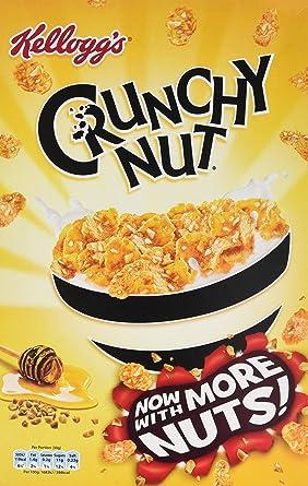 KELLOGGS - Kellogg`S Cereales Crunchy Nut Caja 500 Gr: Amazon.es: Alimentación y bebidas