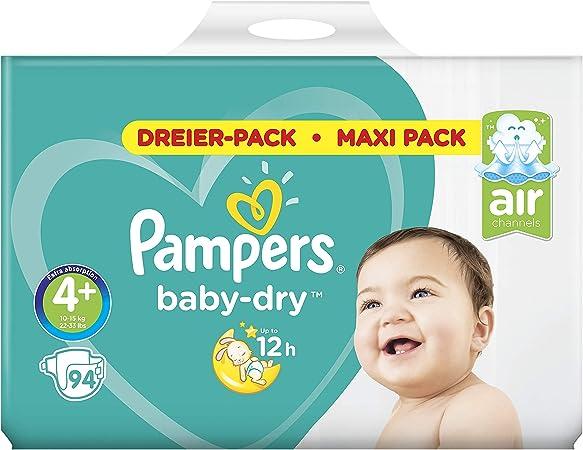 Maxi Plus 9-20kg Big Bag mit 50 Windeln Pampers Baby Dry Gr.4