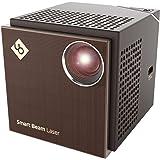 【AMAZON限定-専用スクリーン付き!】超小型レーザープロジェクター Smart Beam Laser 日本専用説明書同梱版 LB-UH6CB Projector