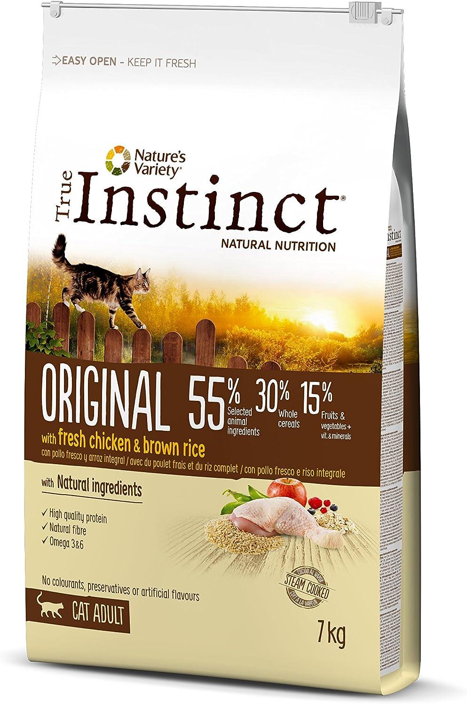 True Instinct Original - Nature's Variety - Pienso para Gato Adulto con Pollo - 7kg
