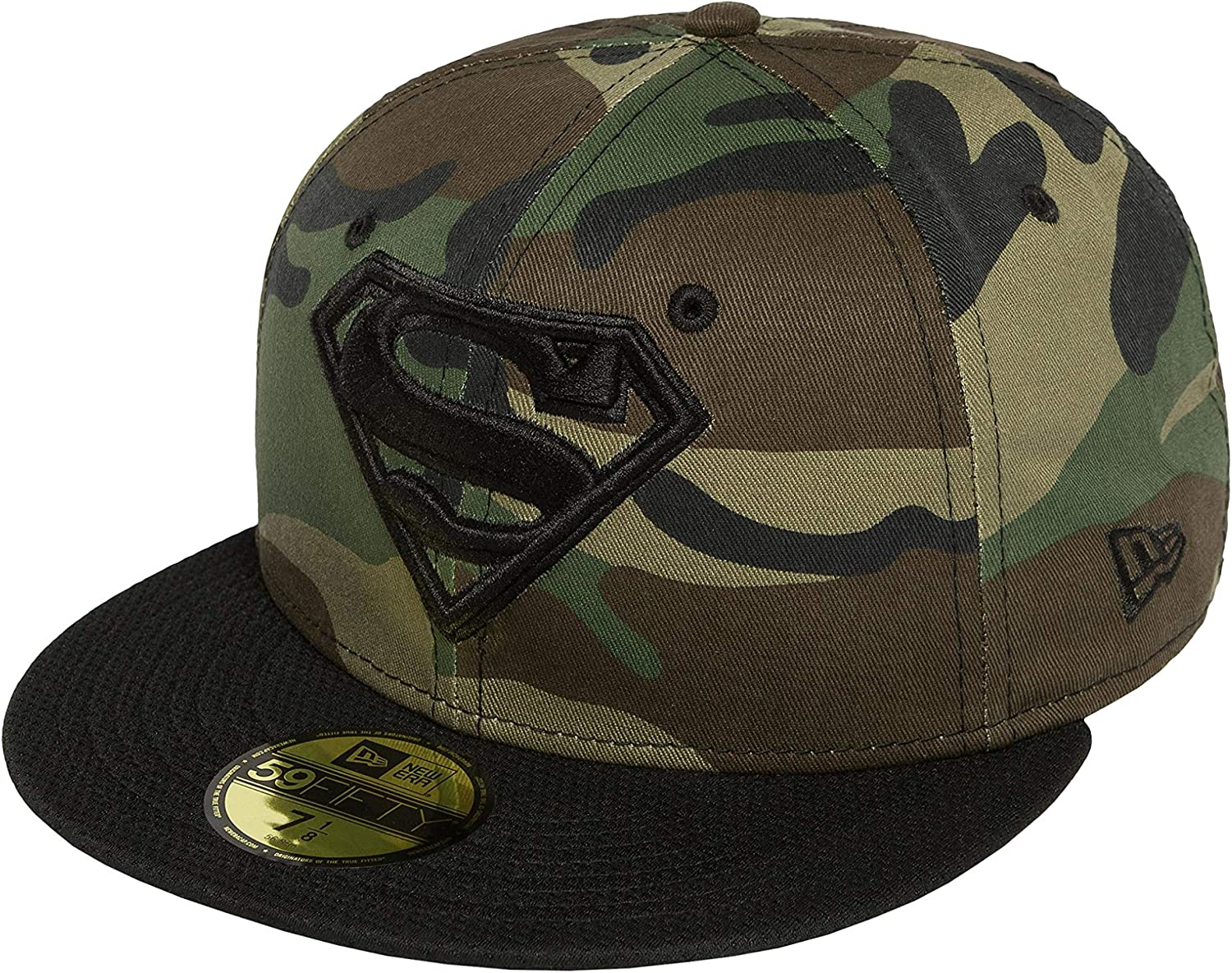 New Era Mujeres Gorras / Gorra plana Camohero Superman: Amazon.es ...