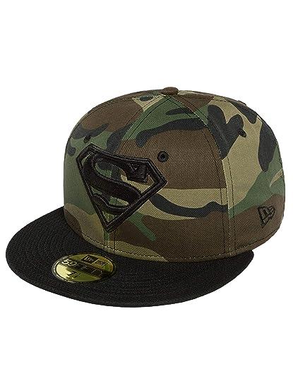 New Era Men Caps Fitted Cap Camohero Superman Camouflage 7-55 d91d224c58eb