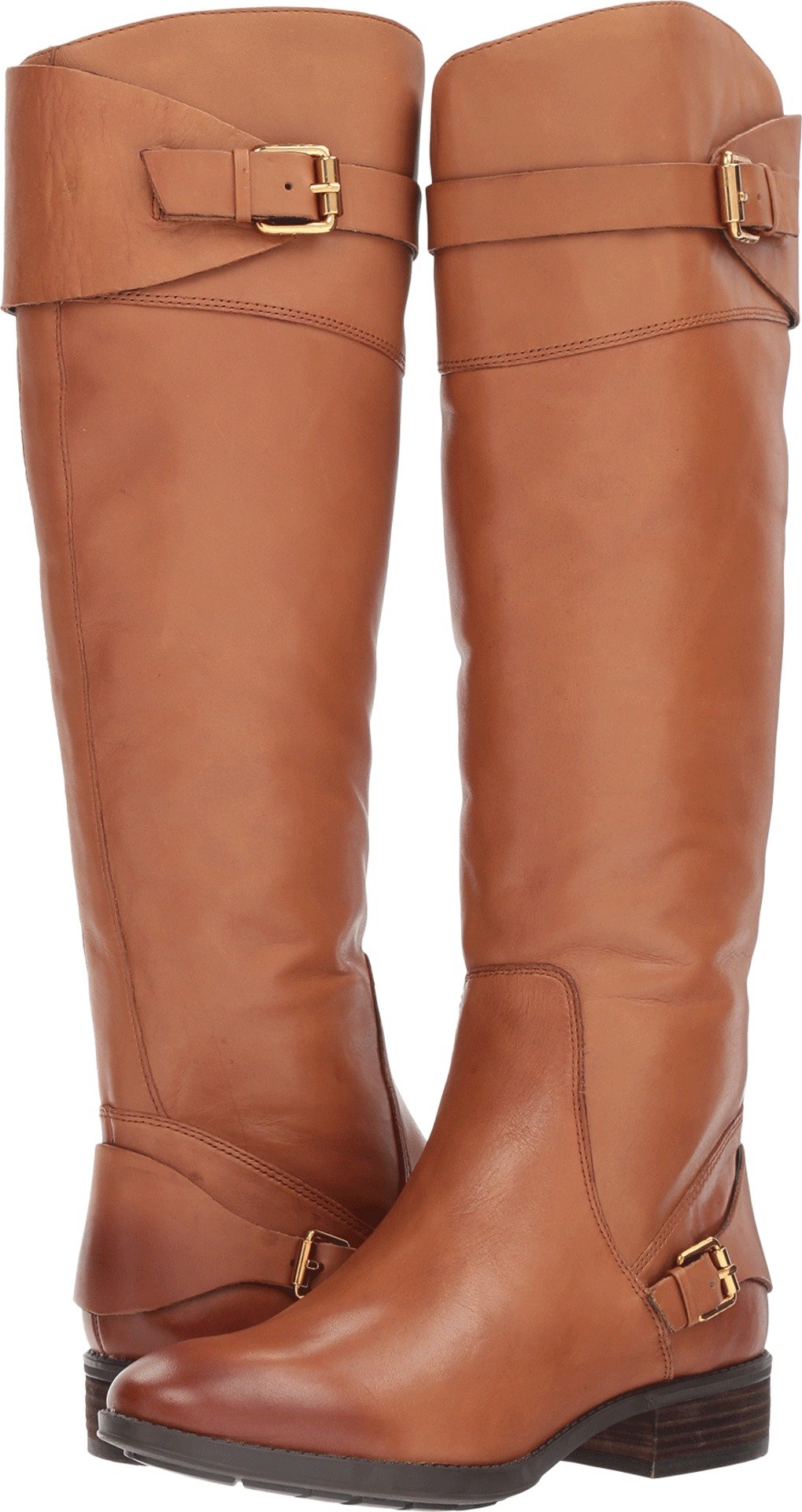 Sam Edelman Women's Portman Knee High Boot, Whiskey, 10.5 Medium US