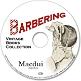 Barbering Vintage Books Collection 24 PDF E-Books on 1 CD Shaving, Cutting Hair