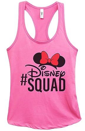 896d0f7a1a04f Women s Disney World Tank Top  Disney Squad Disney Racerback Tank Top  Small