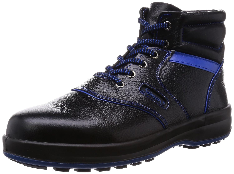 [シモン] 安全靴 中編上 SL22 B00V81STOY 23.5 cm 3E|ブラック/ブルー ブラック/ブルー 23.5 cm 3E