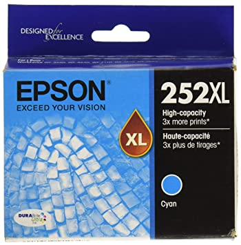 Amazon.com: Epson DURABrite Ultra 252 x l – Cartucho de ...