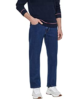 1ff0aacb Lee Men's Brooklyn Straight One Wash Jeans: Amazon.co.uk: Clothing