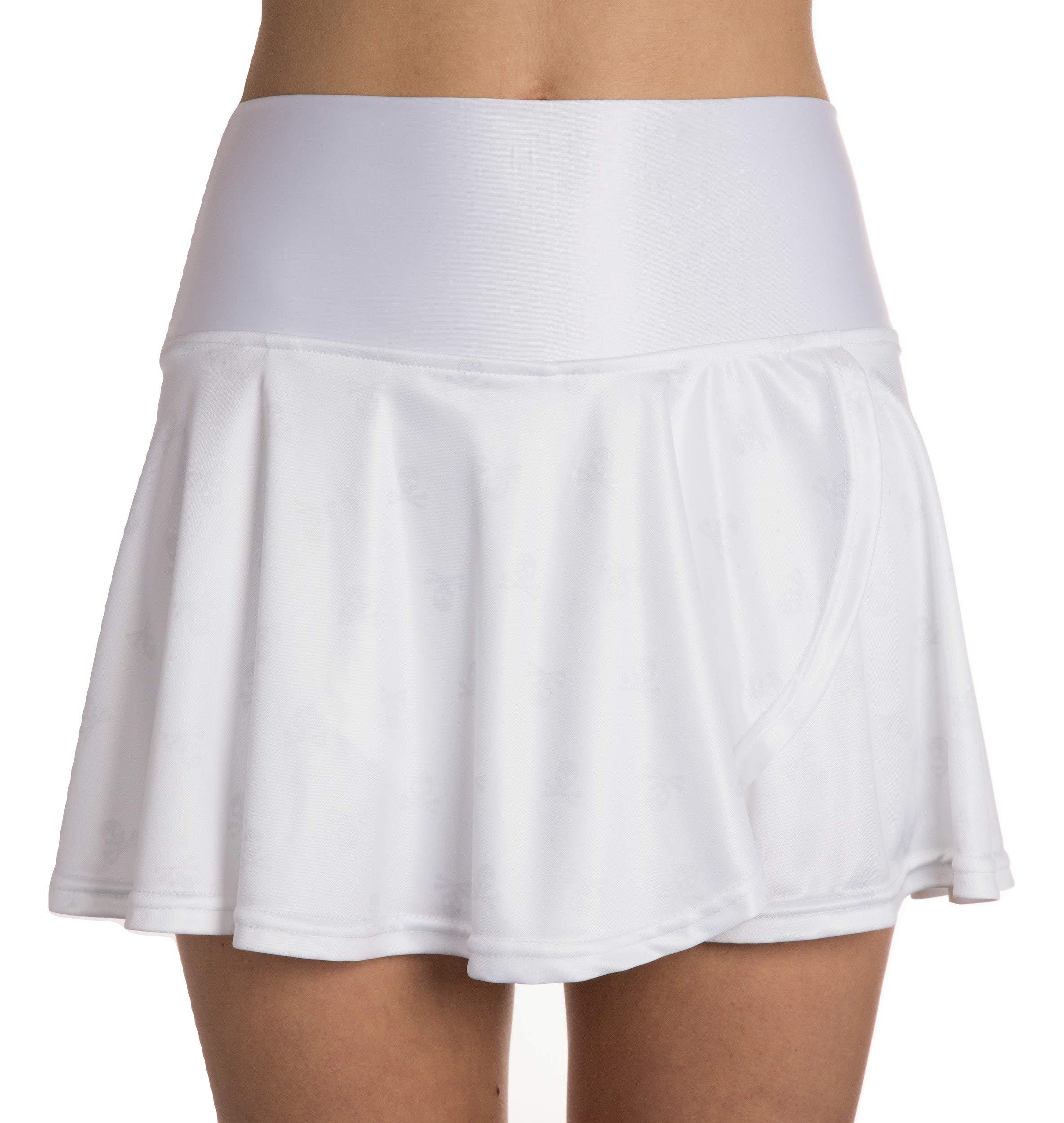 Faye+Florie Holly Tennis Skirt (Camo, X-Small)