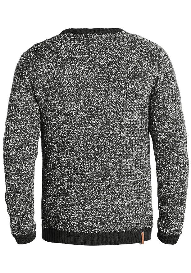 Redefined Rebel Marston Herren Winter Pullover Strickpullover Grobstrick  Pullover Meliert  Amazon.de  Bekleidung 18e46e2d22