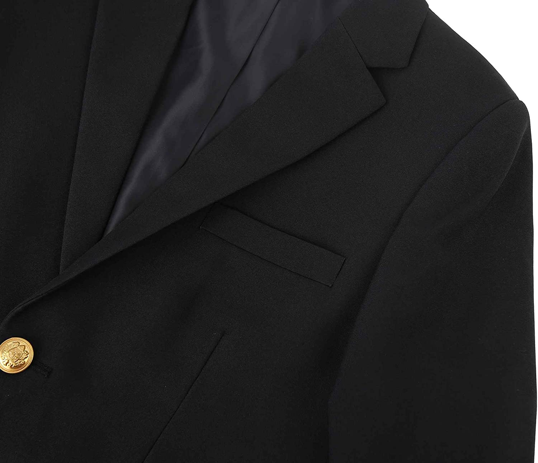 Bienzoe Boys School Uniform High Tech Teflon Wrinkle Free Blazer