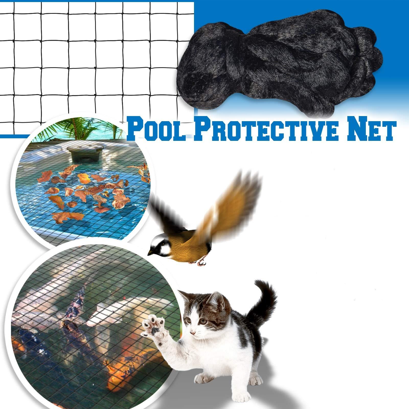 BenefitUSA Pool Netting Pond Protective Floating Net Tub Mesh Cover (28' x45') by BenefitUSA