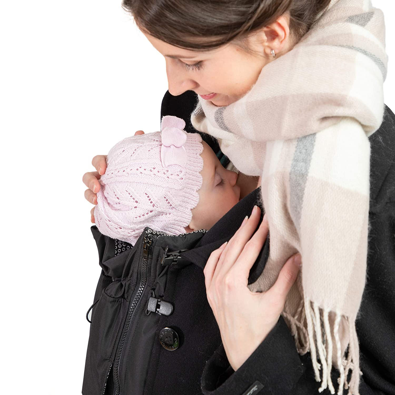 f/ür Schwangerschaft /& Baby-Tragezeit Ganzjahres-Kombi f/ür Jede Jacke /& Konfektionsgr/ö/ße Jackenerweiterung mach Deine Lieblingsjacke zur Umstandsjacke oder Tragejacke