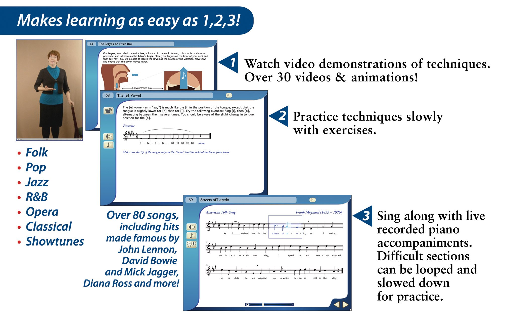 eMedia Singing Method [PC Download] by eMedia