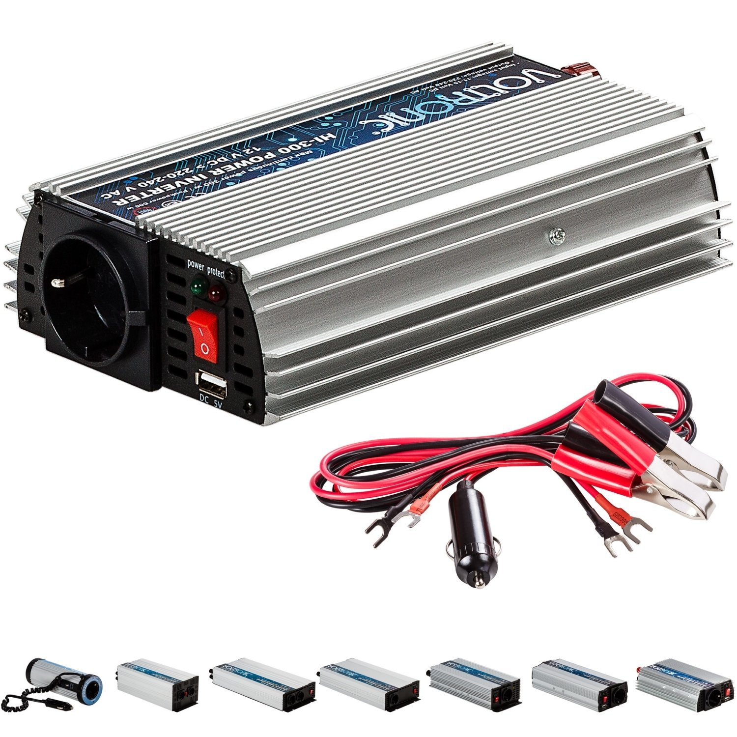 VOLTRONIC V Electronic Sinus Modificado. Coche Inverter ...