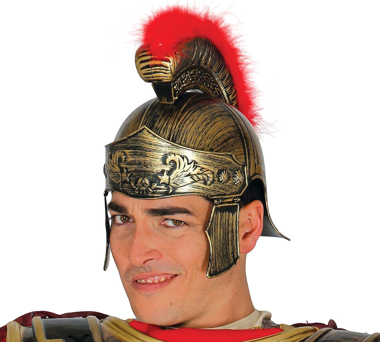 Guirca - Casco romano, color dorado, Talla única (13361.0): Amazon.es: Juguetes y juegos