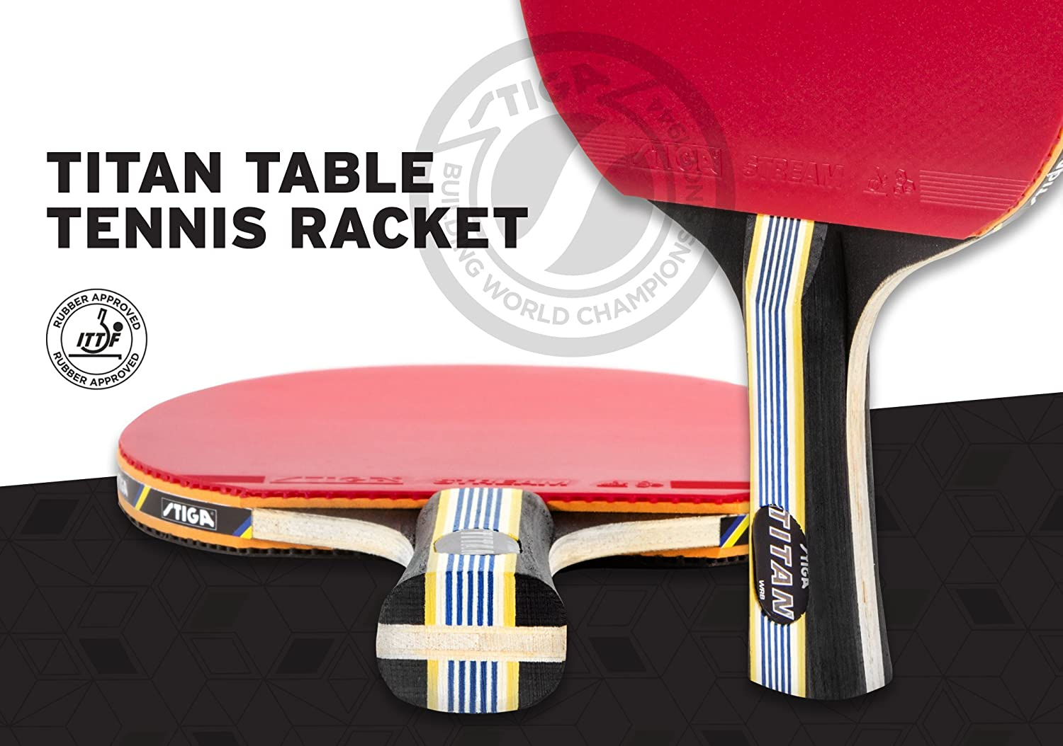 Stiga Titan Table Tennis Racket Review Brokeasshome Com