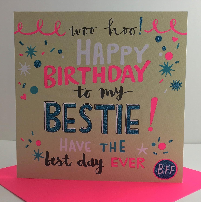 Rachel Ellen Designs Best Friend Birthday Card