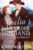 Amelia's Mail Order Husband: A Clean Historical Mail Order Bride Story (Texas Brides Book 2)
