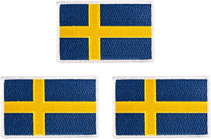 Iron on Sweden Patch
