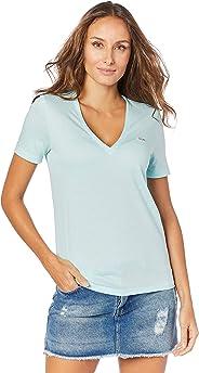 Camiseta, Lacoste, Feminino, Azul Marinho, PP