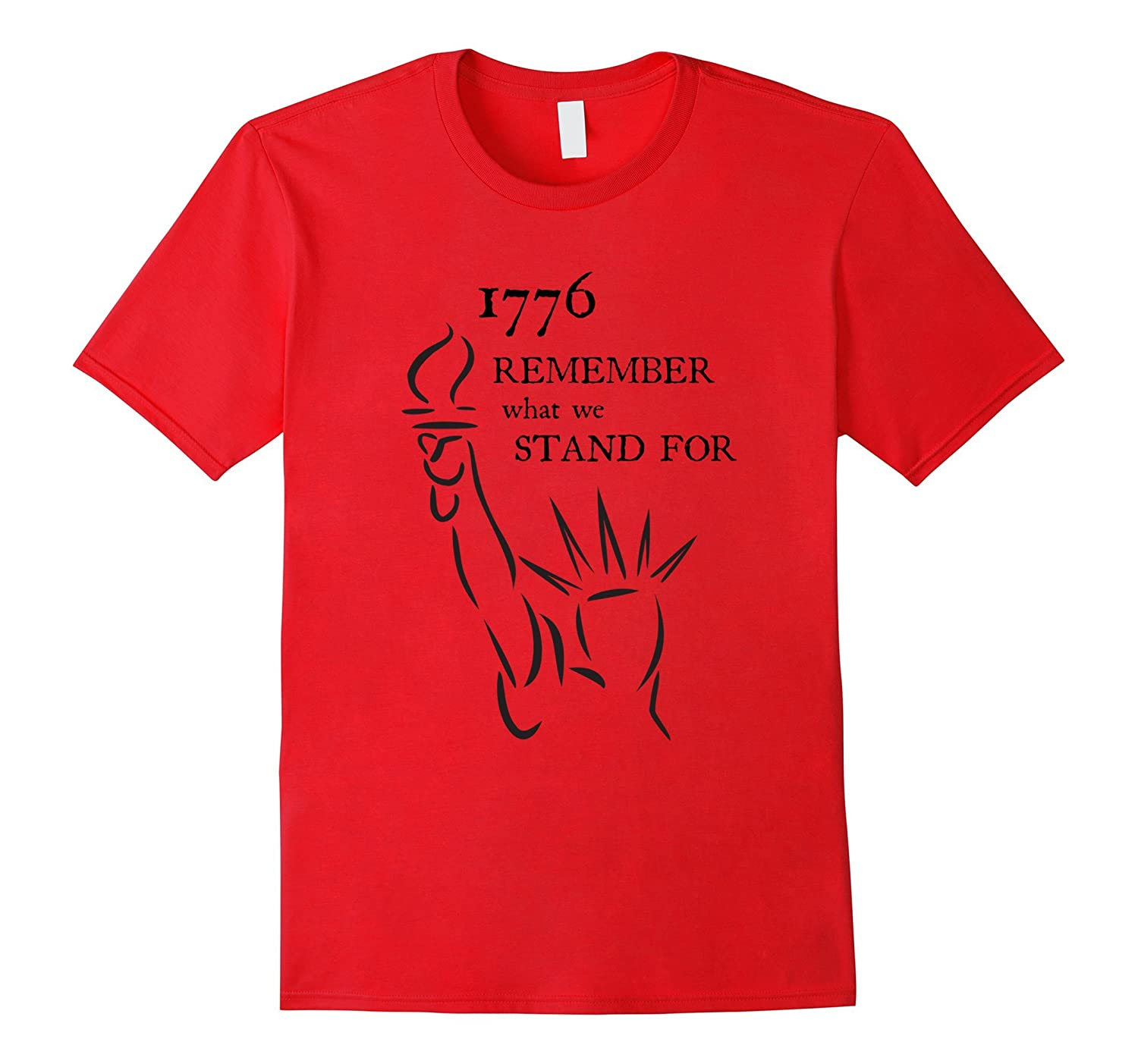 1776 Remember What We Stand For 4th of July T-shirt light-Vaci