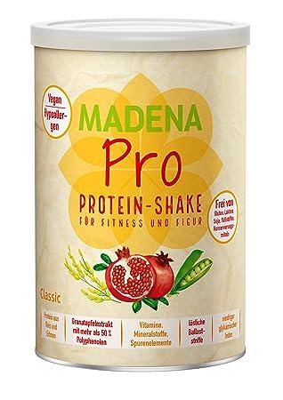 Madena Pro Classic Naturbelassener Veganer Protein Shake Uber