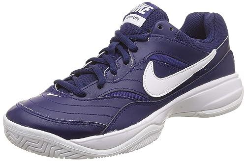 buy cheap 15844 ba9b5 Nike Men s Court Lite Binary Blue White Tennis Shoes-6 UK India (