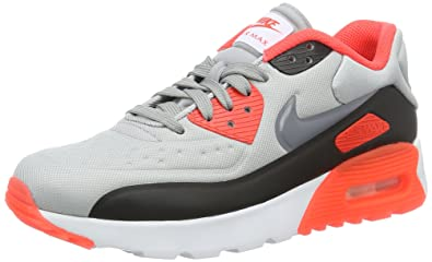 reputable site 9be27 7836b Nike air Max 90 Ultra Se (GS), Chaussures de Course garçon, Gris