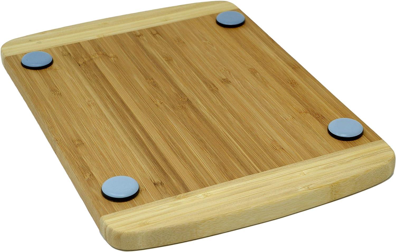 Tabla deslizante 35 x 25 cm de madera de bambú rápido con ...