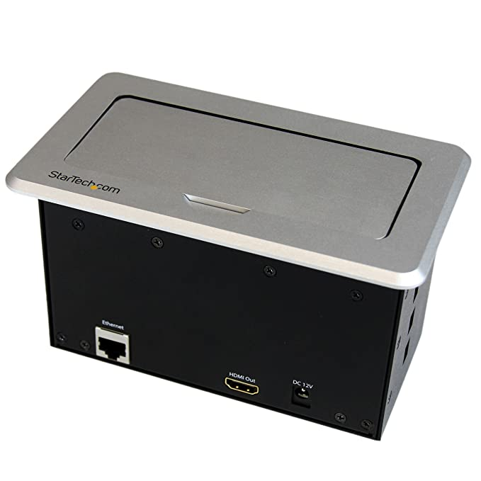 Startech box4hdecp conference table connectivity box hdmivga startech box4hdecp conference table connectivity box hdmivgamini displayport to hdmi output with fast charge usb and ethernet pass through buy greentooth Images