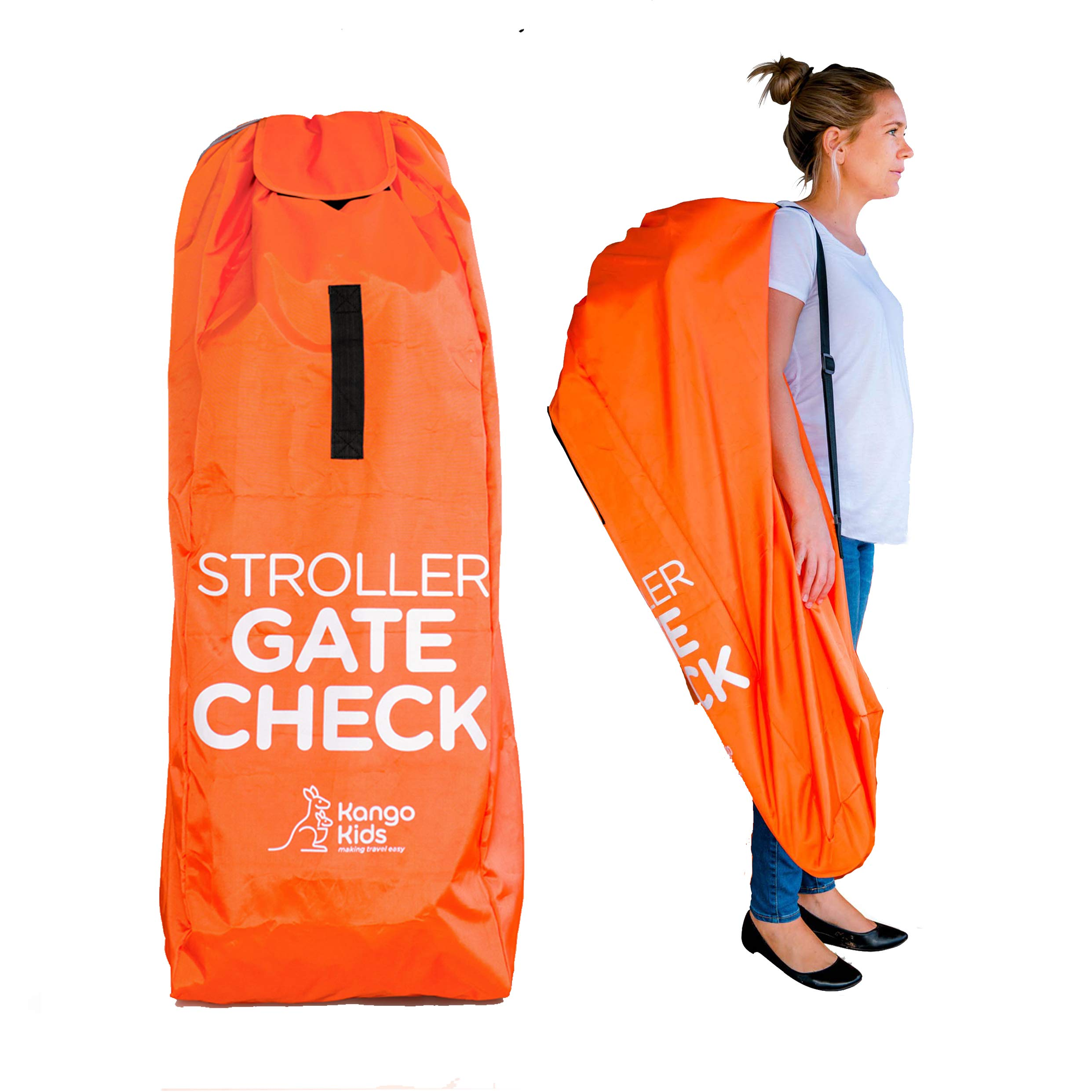 Umbrella Stroller Travel Bag - Baby Gate Check Bags for Air Travel. Protect Your Child's Strollers from Dirt & Damage. Easy to Carry. by KangoKids