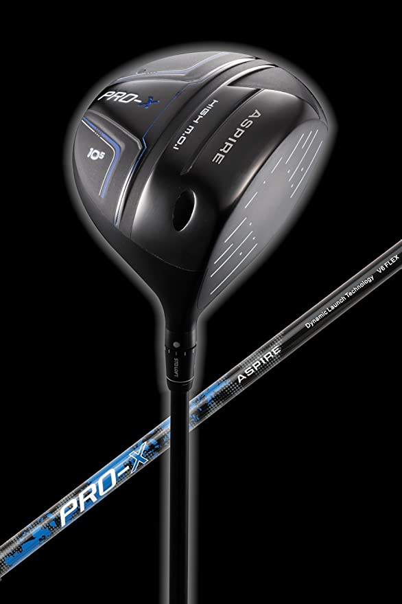 Amazon.com: Aspire Pro-X - Palo de golf para hombre (titanio ...