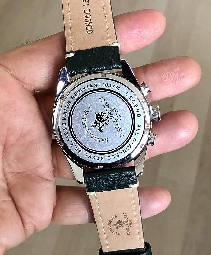 Santa Barbara Polo Racquet Club SB.7.1123.1 Reloj de Pulsera para ...