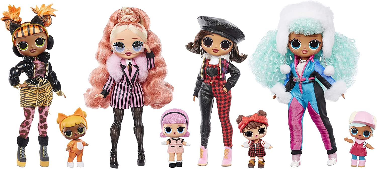 NEW LOL Winter Disco 2.0 Dolls available for PRE-ORDER @ Amazon