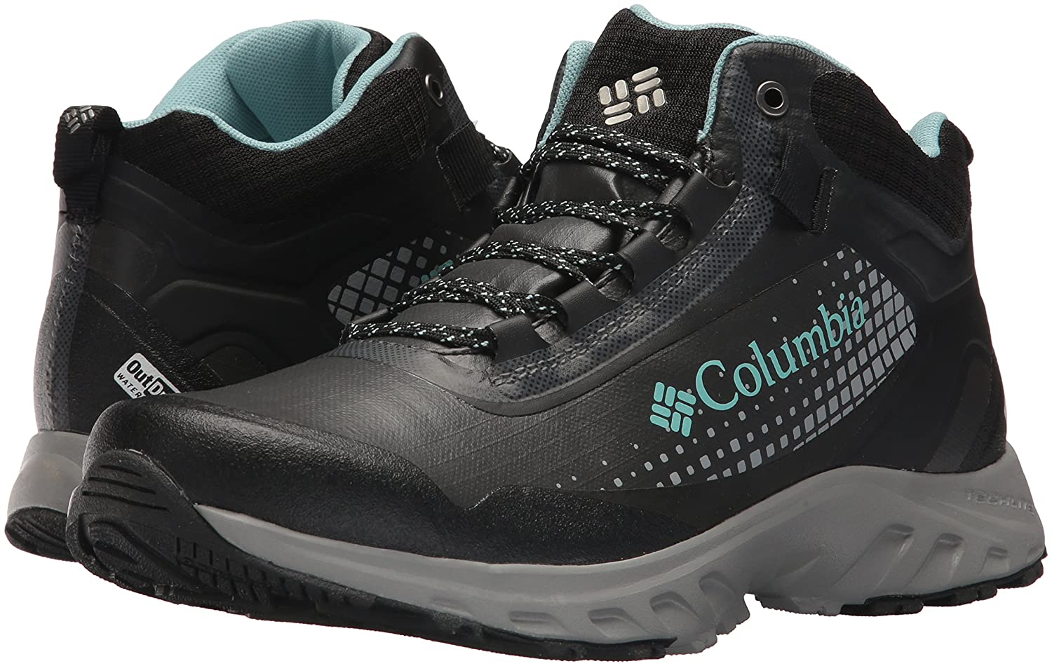 Columbia Women's Irrigon Trail Boot Mid Outdry Xtrm Hiking Boot Trail B073RNRK9N 10 B(M) US|Black, Iceberg 461d68