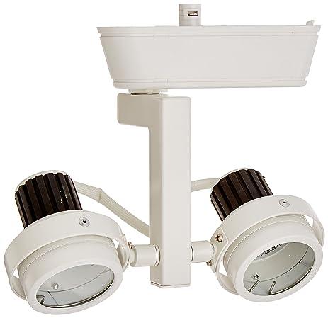 wac lighting hht 817 wt h series low voltage track head 50w