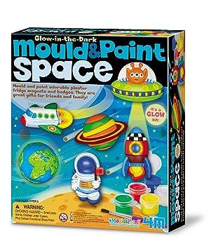 4M - Kidz Labs - Molde y Pintura Espacio: Amazon.es: Juguetes y juegos