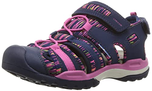 279f473b0 Geox J Borealis Girl a Closed Toe Sandals  Amazon.co.uk  Shoes   Bags