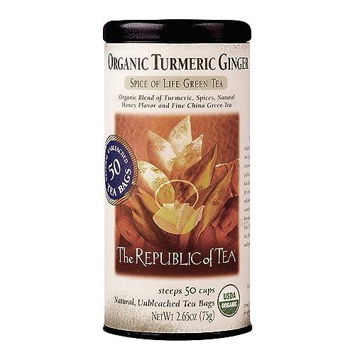 The Republic Organic Turmeric Ginger Green Tea