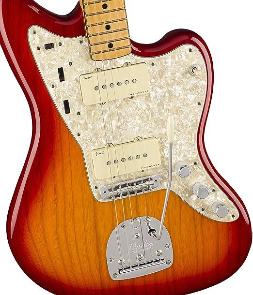 Guitarra eléctrica Fender American Ultra Jazzmaster (arce, rojo ...
