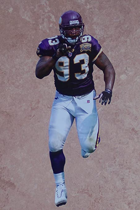 Image Unavailable. Image not available for. Color  John Randle Mini Fathead Minnesota  Vikings ... d044b4b8e