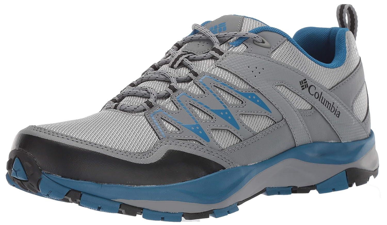 gris (MonuHommest, noir) 47 EU Columbia Wayfinder Outdry, Chaussures de Randonnée Basses Homme